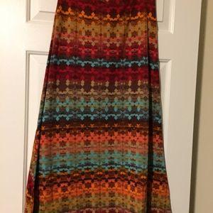 Multi-colored skirt